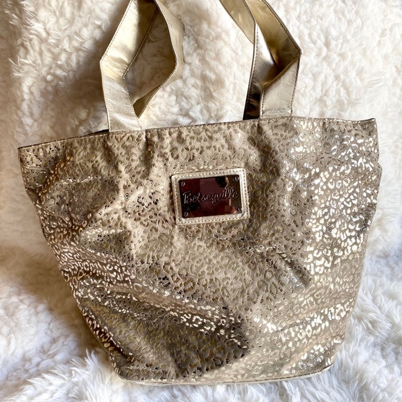 Betsey Johnson Handbags - Betsey Johnson Betseyville Animal Print tote Bag